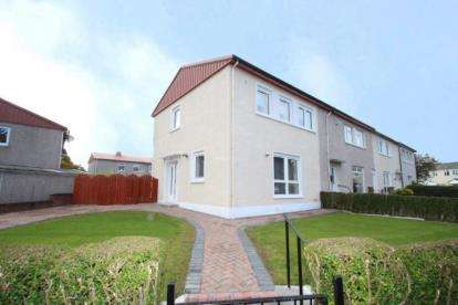 3 Bedrooms End Of Terrace House for sale in Rye Crescent, Glasgow, Lanarkshire