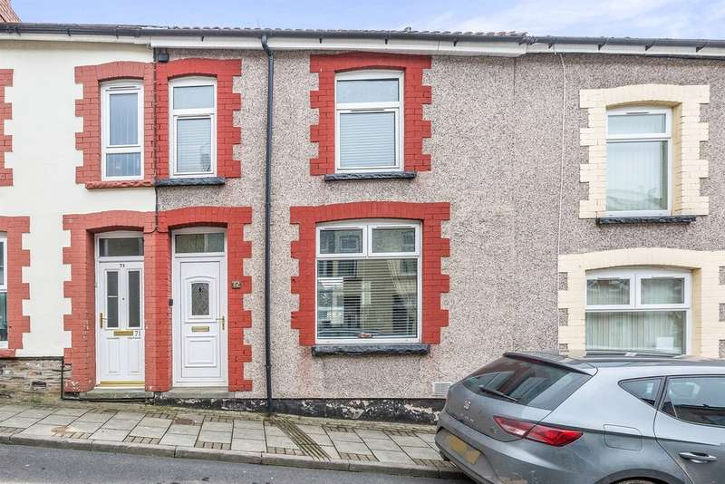 3 Bedrooms Terraced House for sale in Church Street, Aberbargoed, Bargoed