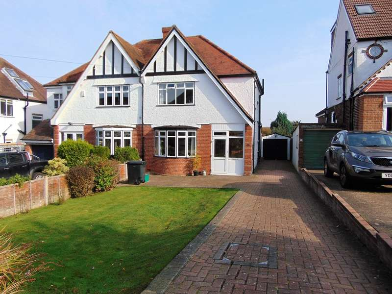 3 Bedrooms Semi Detached House for sale in York Road, South Croydon, Surrey, CR2 8NR