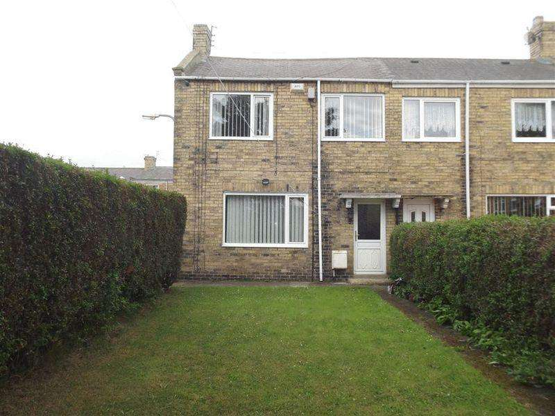 3 Bedrooms End Of Terrace House for sale in Cedar Terrace, Ashington - Three Bedroom End Terrace House