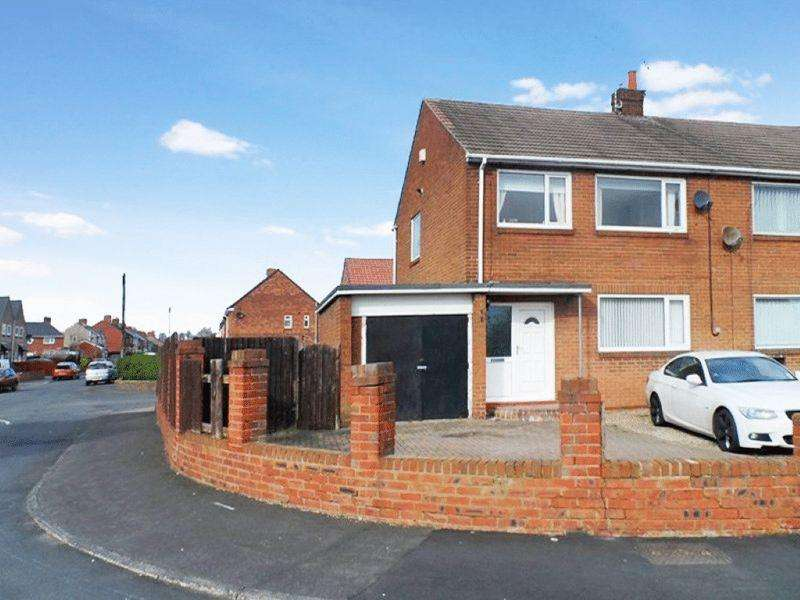 3 Bedrooms Semi Detached House for sale in Bedlington, Three Bedroom Semi, Knox Road.