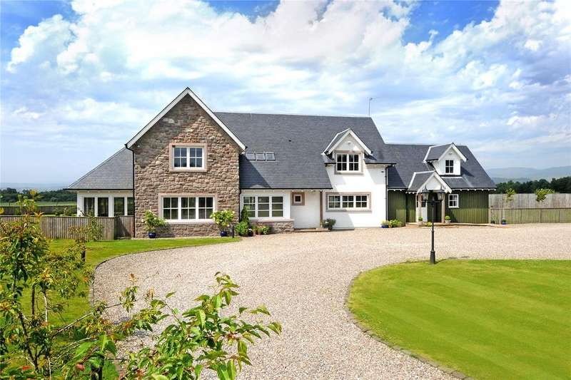 5 Bedrooms Detached House for sale in Westfield, Crieff, Perthshire