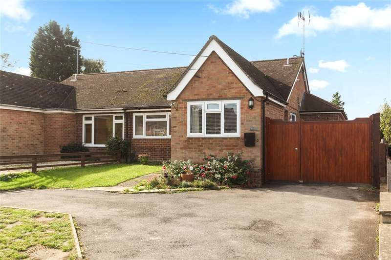 3 Bedrooms Semi Detached Bungalow for sale in Westwood Lane, Normandy, Guildford, Surrey, GU3