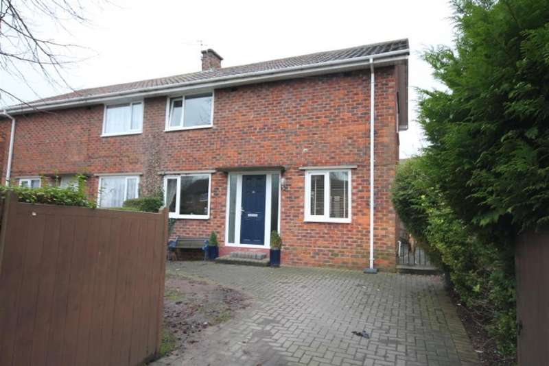 3 Bedrooms Semi Detached House for sale in Newton Lane, Darlington