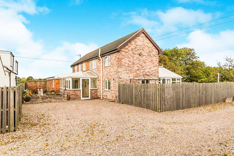 5 Bedrooms Detached House for sale in Blossom Cottage Moss Road, Moss, Doncaster, DN6