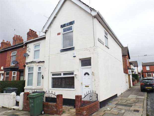 2 Bedrooms End Of Terrace House for sale in Elmswood Road, Birkenhead, Merseyside