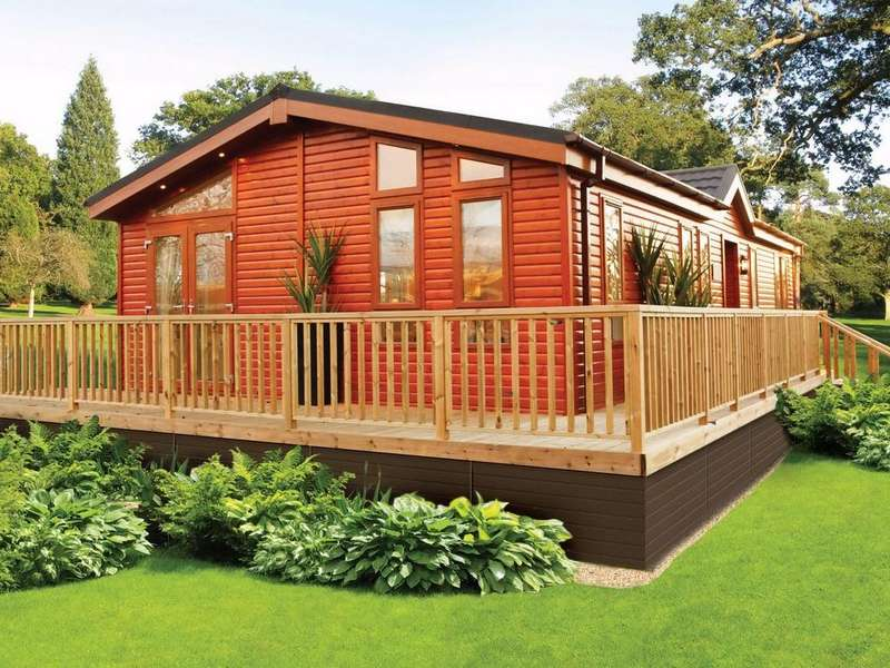 2 Bedrooms Chalet House for sale in Deneside, The Causeway, Wolsingham, Bishop Auckland, County Durham