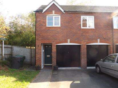 2 Bedrooms Maisonette Flat for sale in Warmstry Road, Bromsgrove