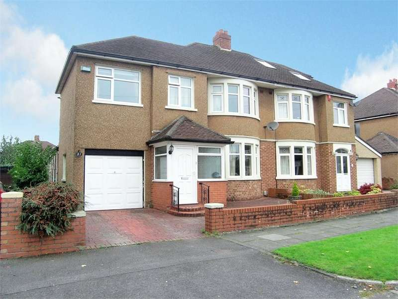 4 Bedrooms Semi Detached House for sale in St Anthony Road, Heath, Cardiff
