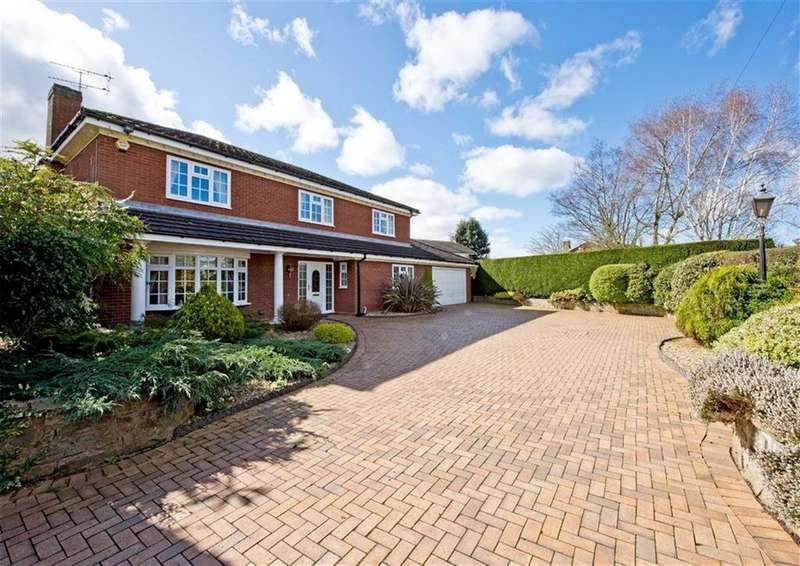 4 Bedrooms Detached House for sale in Richmond House, 5, Orams Lane, Brewood, Stafford, South Staffordshire, ST19