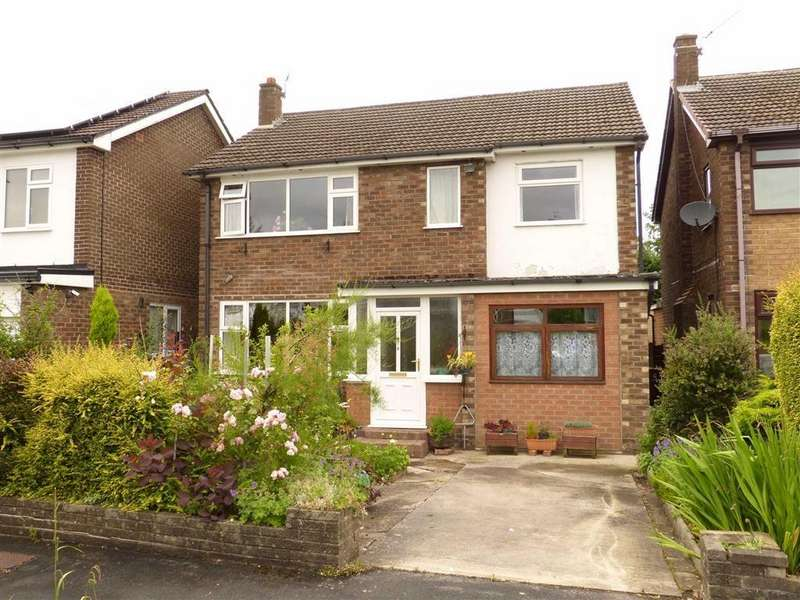 4 Bedrooms Detached House for sale in Fernlea Close, Hadfield, Glossop