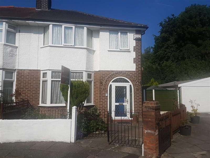 3 Bedrooms Semi Detached House for sale in Moss Grange Avenue, Whalley Range