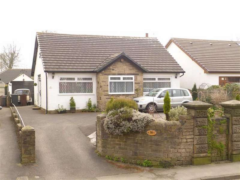3 Bedrooms Detached Bungalow for sale in Hall Meadow Road, Glossop