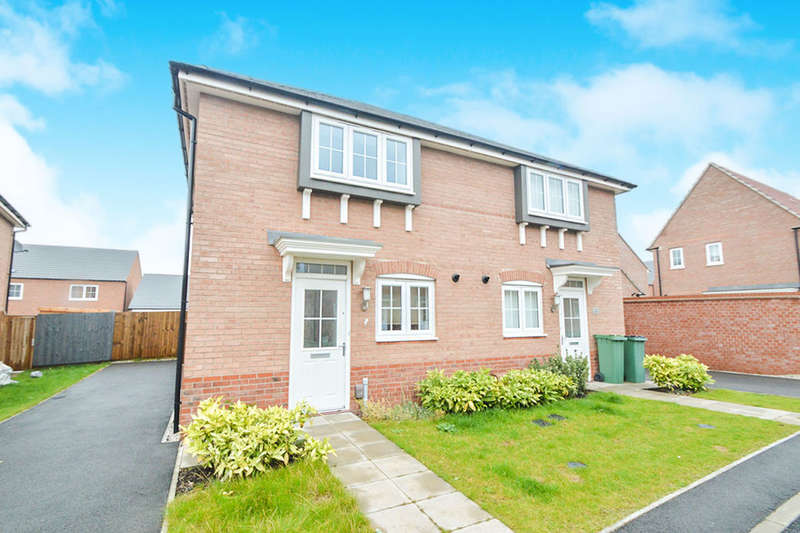 3 Bedrooms Semi Detached House for sale in Goldworkings Crescent, LEICESTER, LE3