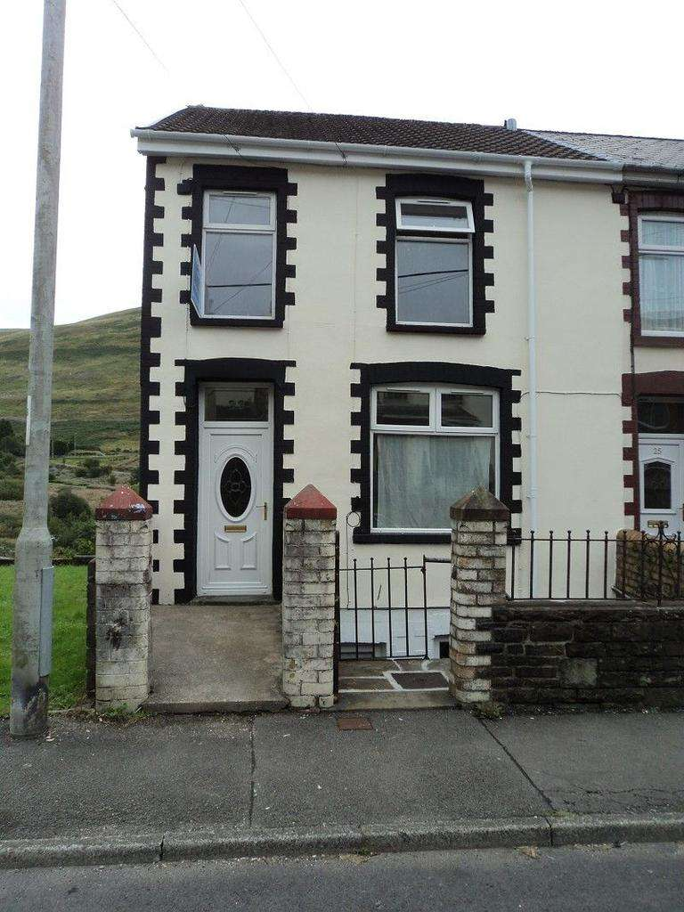 2 Bedrooms End Of Terrace House for sale in Wyndham Street, Ogmore Vale, Bridgend. CF32 7EU