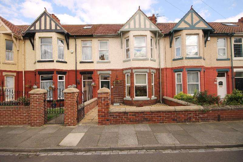 3 Bedrooms Terraced House for sale in Granville Avenue, Hartlepool