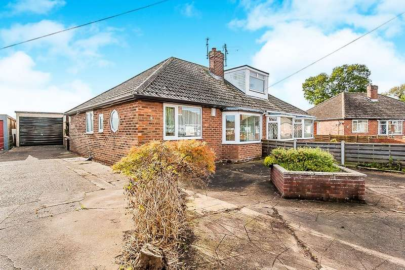 2 Bedrooms Semi Detached Bungalow for sale in Southern Walk, Grimsby, DN33