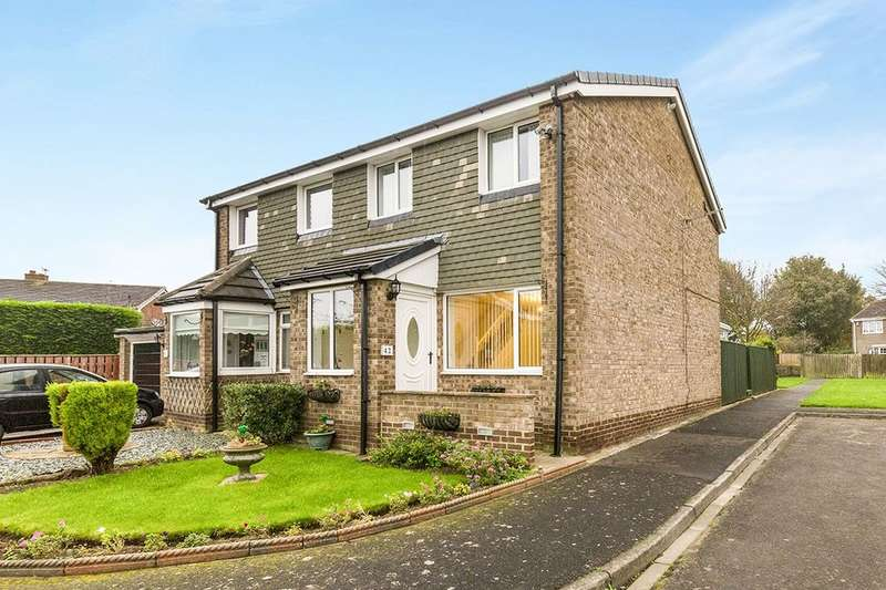 3 Bedrooms Semi Detached House for sale in Penhill Close, Ouston, Chester Le Street, DH2