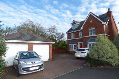 5 Bedrooms Detached House for sale in Chapelside Close, Great Sankey, Warrington, Cheshire