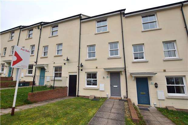 4 Bedrooms Terraced House for sale in Alvington Drive, CHELTENHAM, Gloucestershire, GL52 5FS