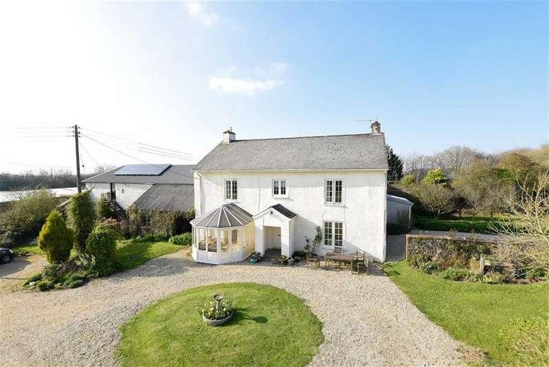 6 Bedrooms Detached House for sale in Rackenford, Tiverton, Devon, EX16