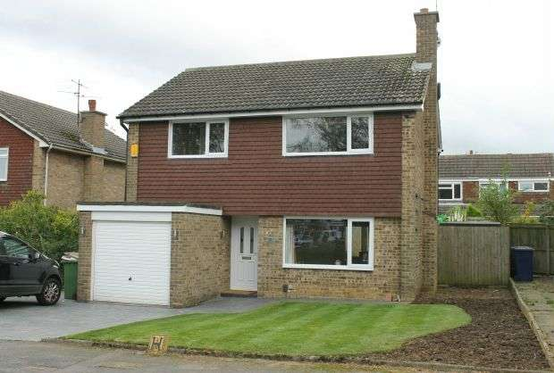 4 Bedrooms Detached House for sale in Osprey Close, Galley Hill, Guisborough