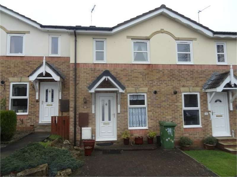 2 Bedrooms Terraced House for sale in CA11 9HS Macadam Gardens, Penrith, Cumbria