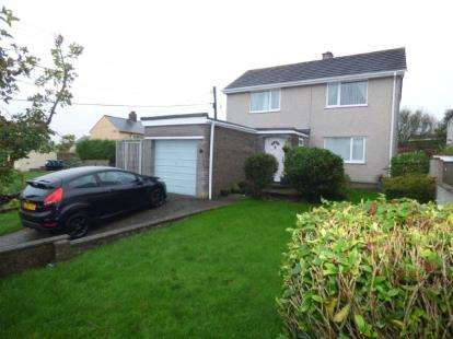 3 Bedrooms Detached House for sale in Stad Glanrafon, Llanfechell, Amlwch, Anglesey, LL68