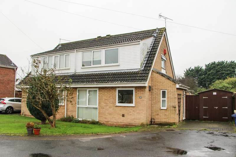 3 Bedrooms Semi Detached House for sale in Drinkwater Close, Newmarket