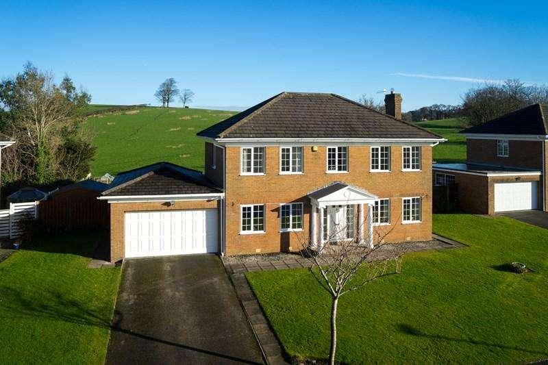 4 Bedrooms Detached House for sale in Craiglands Court, Aldcliffe, Lancaster