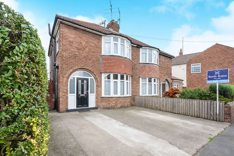 3 Bedrooms Semi Detached House for sale in Hull Road, York, YO10
