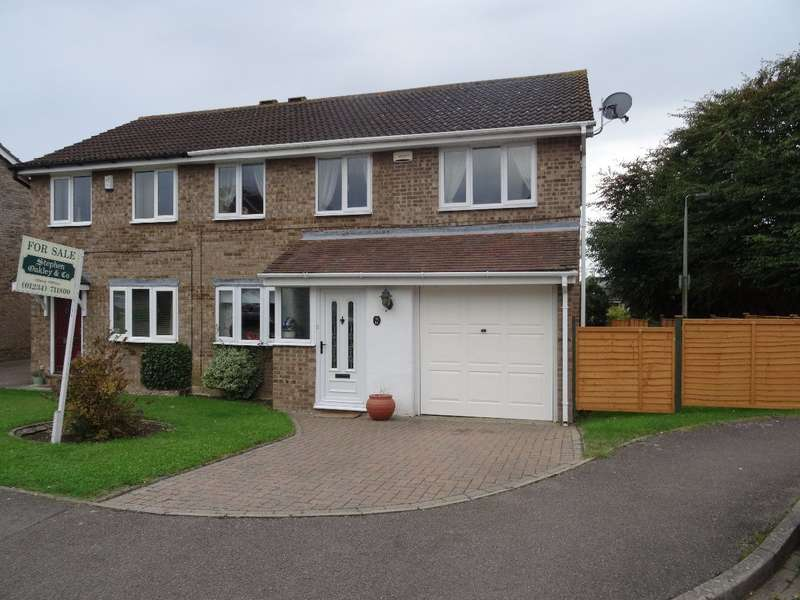 3 Bedrooms Semi Detached House for sale in RIVETTS CLOSE, OLNEY