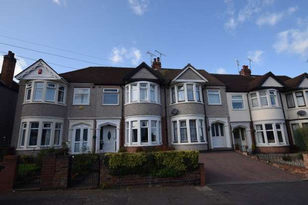 3 Bedrooms Terraced House for sale in Dickens Road, Keresley, Coventry, CV6