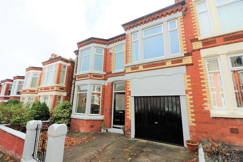 5 Bedrooms Semi Detached House for sale in Hale Road, Wallasey, CH45 7QU