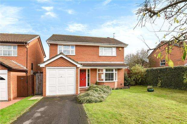 4 Bedrooms Detached House for sale in Lindsey Close, Wokingham, Berkshire