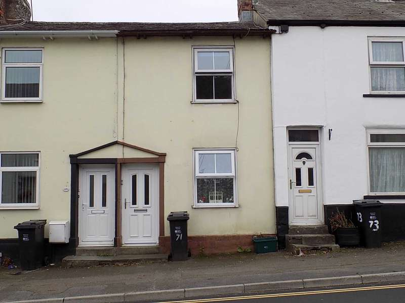 2 Bedrooms Terraced House for sale in High Street, Chard