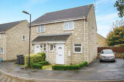 2 Bedrooms Semi Detached House for sale in Suffolk Close, Tetbury, Gloucestershire, .