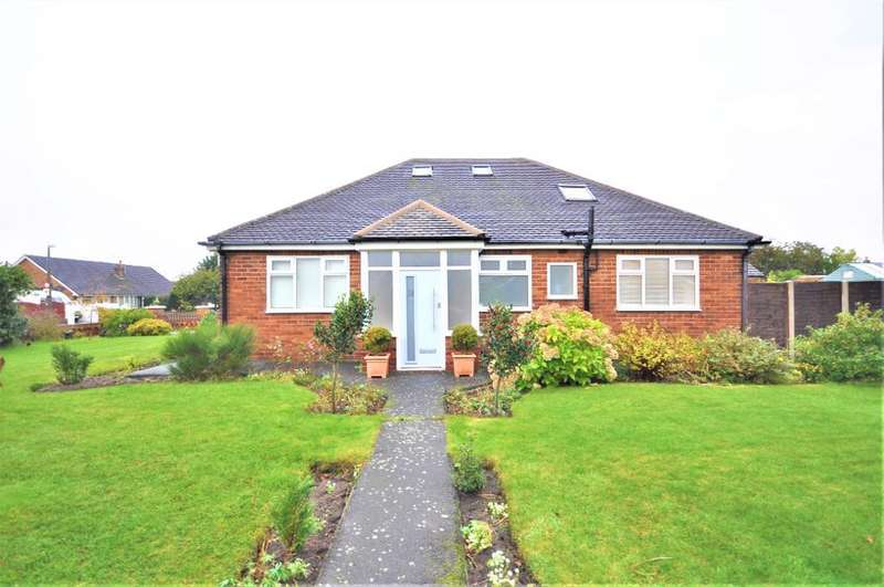 3 Bedrooms Detached Bungalow for sale in Singleton Avenue, St Anne's, Lytham St Annes, Lancashire, FY8 3JT