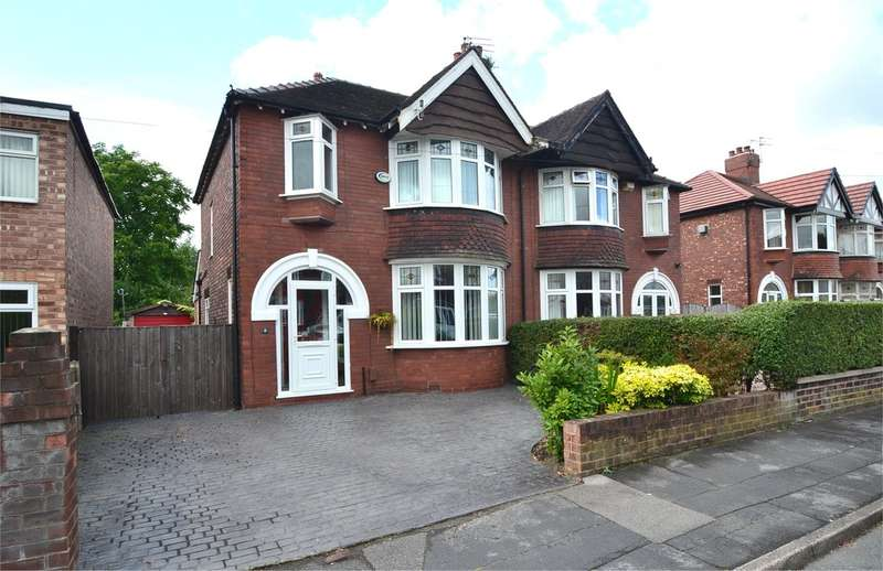 3 Bedrooms Semi Detached House for sale in Offerton Drive, Offerton, Stockport SK2 5QZ