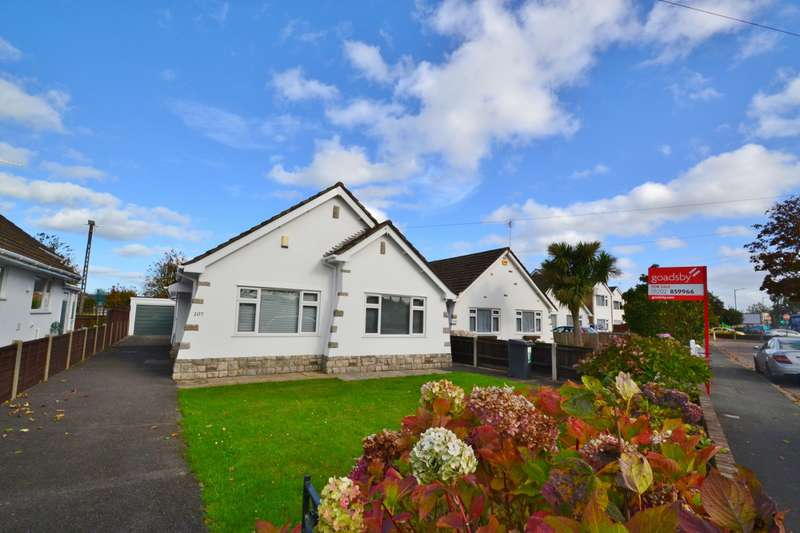 3 Bedrooms Detached Bungalow for sale in Castle Lane West