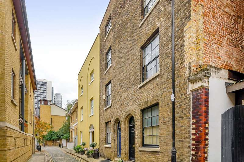 4 Bedrooms House for sale in Cold Harbour, Isle Of Dogs, E14