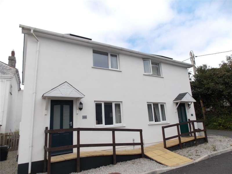 2 Bedrooms Semi Detached House for sale in Trefrew Road, Camelford, Cornwall
