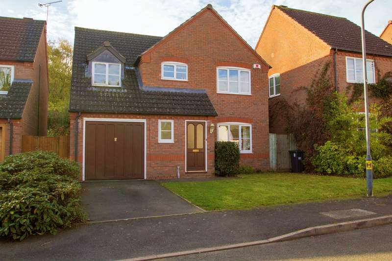4 Bedrooms Detached House for sale in Gullimans Way, Leamington Spa, CV31