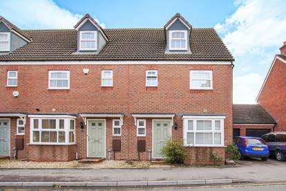 3 Bedrooms End Of Terrace House for sale in Thatcham Avenue, Kingsway, Gloucester, Gloucestershire