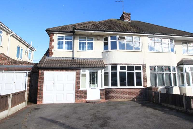 4 Bedrooms Semi Detached House for sale in Malcolm Road, Shirley, Solihull