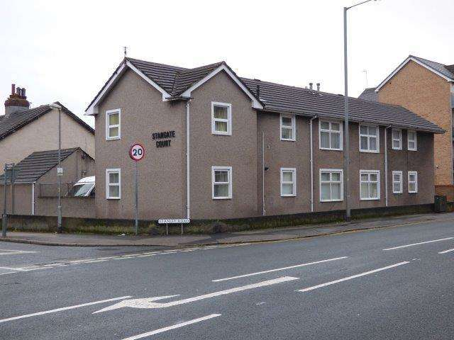 2 Bedrooms Flat for sale in Stangate Court, Stanley Road, Morecambe, Lancashire, LA3 1SP