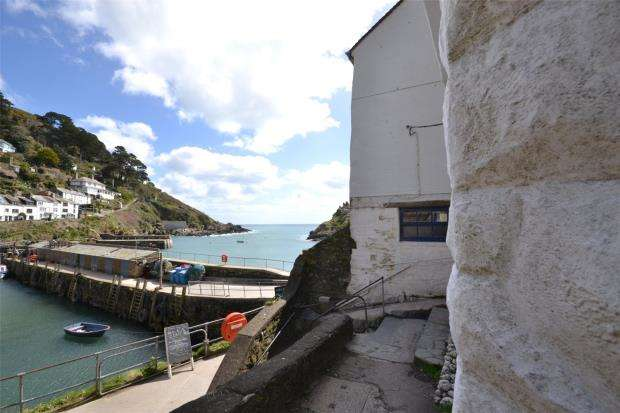1 Bedroom Maisonette Flat for sale in Quay Road, Polperro, Looe, Cornwall