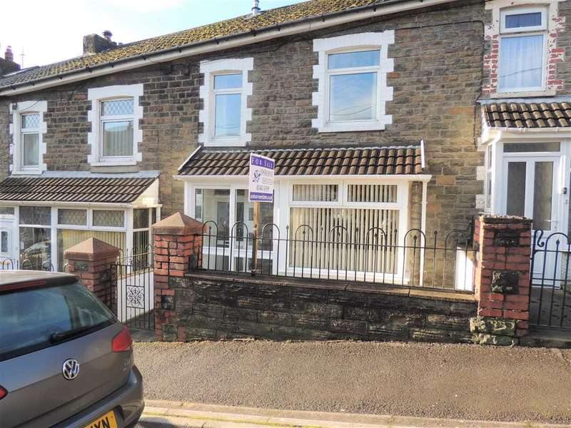 2 Bedrooms Terraced House for sale in Coronation Road, Evanstown, Porth