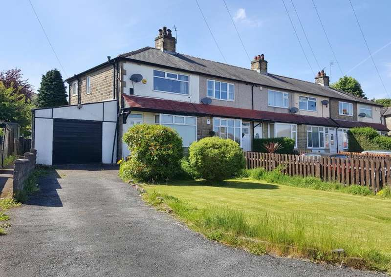2 Bedrooms End Of Terrace House for sale in Sandhall Avenue, Pellon, Halifax, HX2 0DN