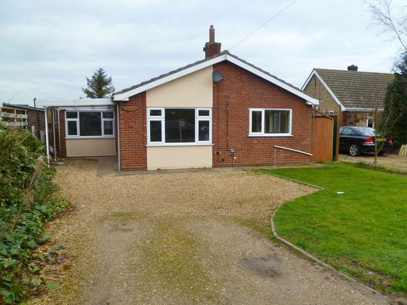 3 Bedrooms Bungalow for sale in Roman Bank, Spalding, Lincolnshire, PE12